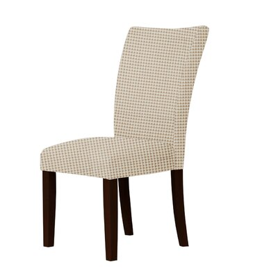 Wallington Parsons Chair Upholstery: Brown