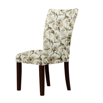Latham Cotton Fabric Parsons Chair
