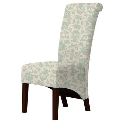 Audra Parsons Chair Upholstery: Green