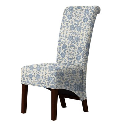 Audra Parsons Chair Upholstery: Blue