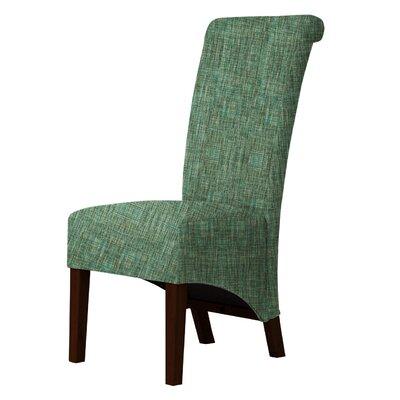 Keyesport Upholstered Dining Chair Upholstery: Green