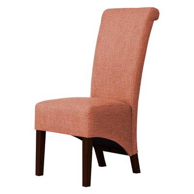 Keyesport Parson Chair  Upholstery: Orange