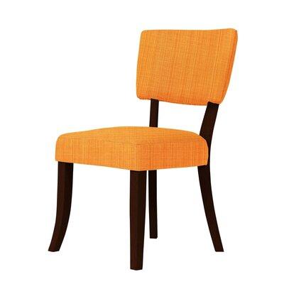Larochelle Side Chair Upholstery: Orange