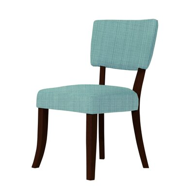 Larochelle Side Chair Upholstery: Green