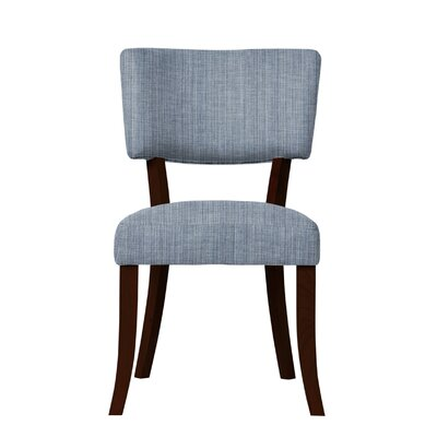 Larochelle Side Chair Upholstery: Blue