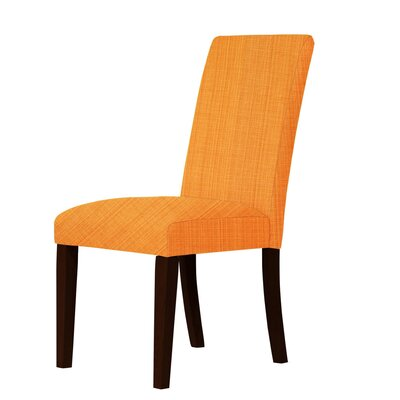 Beachwood Parsons Chair Upholstery: Orange