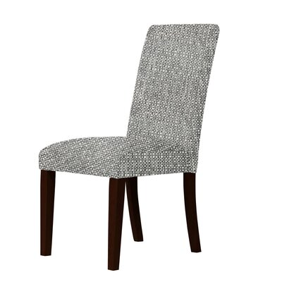 Beachwood Parsons Chair Upholstery: Gray