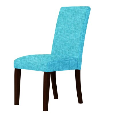 Beachwood Parsons Chair Upholstery: Sky Blue