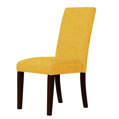 Beachwood Parsons Chair Upholstery: Yellow