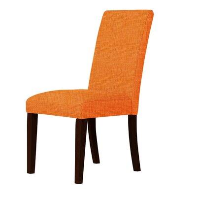 Beachwood Parsons Chair Upholstery: Orange
