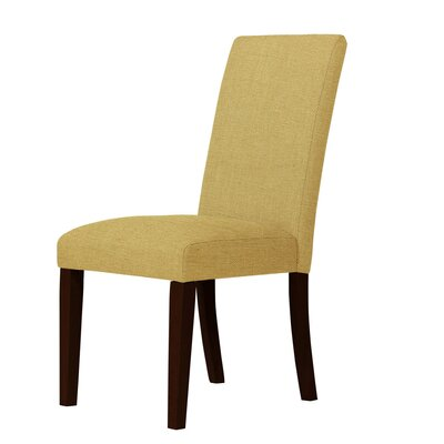 Beachwood Parsons Chair Upholstery: Cream