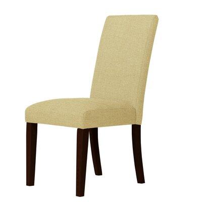 Beachwood Parsons Chair Upholstery: Light Cream