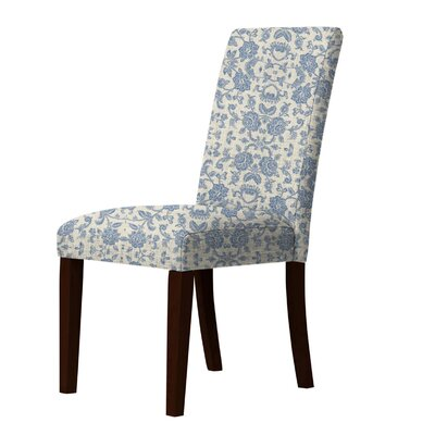 Lattimore Upholstered Dining Chair Upholstery: Blue