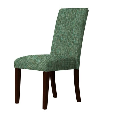 Beachwood Parsons Chair Upholstery: Green