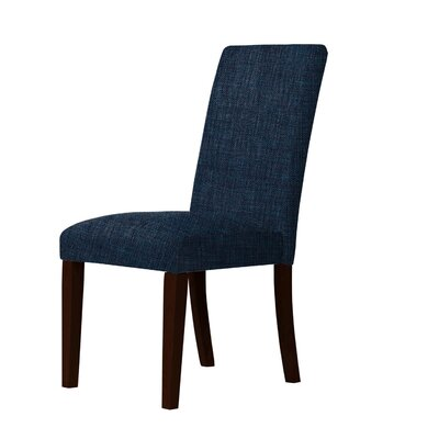 Beachwood Parsons Chair Upholstery: Blue