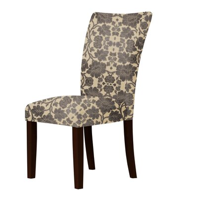 Latham Upholstered Dining Chair Upholstery: Dark Brown