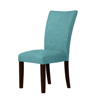 Wallington Parsons Chair Upholstery: Sea Green