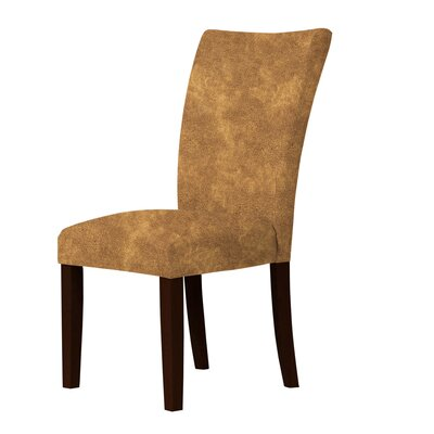 Wallington Parsons Chair Upholstery: Orange/Brown