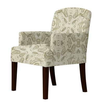 Keisha Cotton Fabric Arm Chair