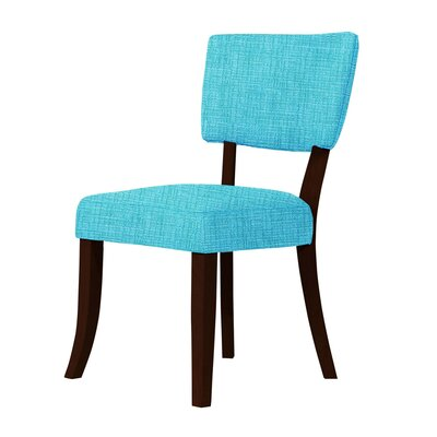 Larochelle Side Chair Upholstery: Sky Blue