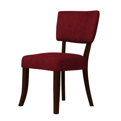 Larochelle Side Chair Upholstery: Dark Red
