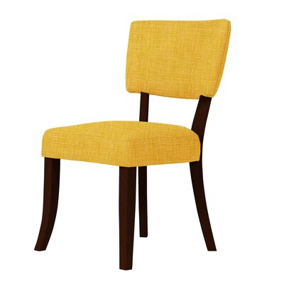 Larochelle Side Chair Upholstery: Yellow