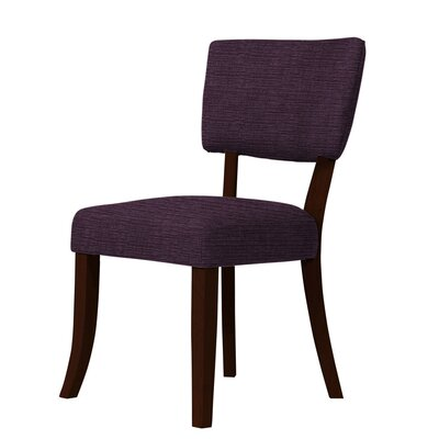 Larochelle Side Chair Upholstery: Dark Purple