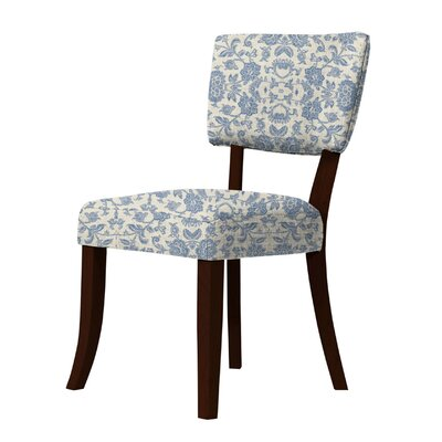 Petra Side Chair Upholstery: Blue