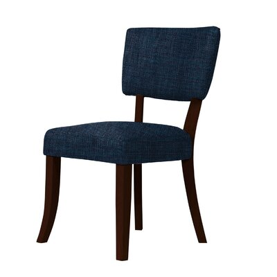 Larochelle Luxury Side Chair Upholstery: Blue
