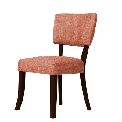 Larochelle Side Chair Upholstery: Orange