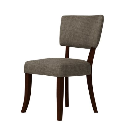 Larochelle Side Chair Upholstery: Brown