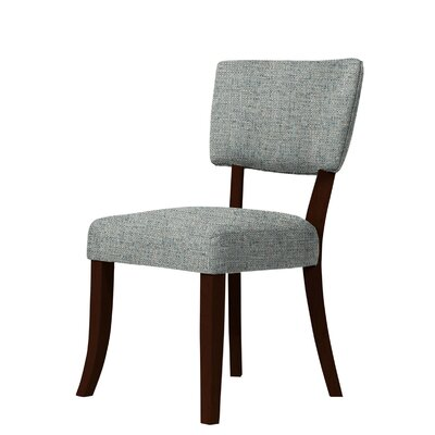 Larochelle Side Chair Upholstery: Green/Gray