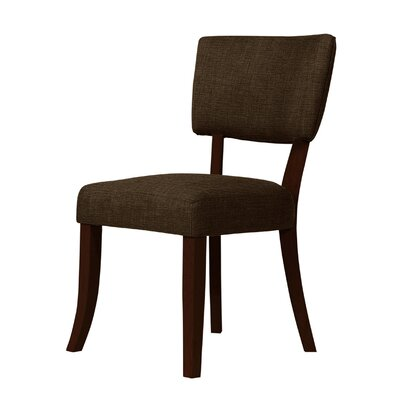 Trottier Side Chair Upholstery: Dark Brown