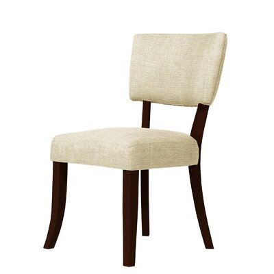 Trottier Side Chair Upholstery: Ivory