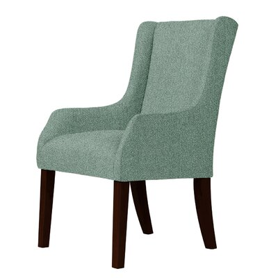 Larrabee Wingback Chair Upholstery: Green