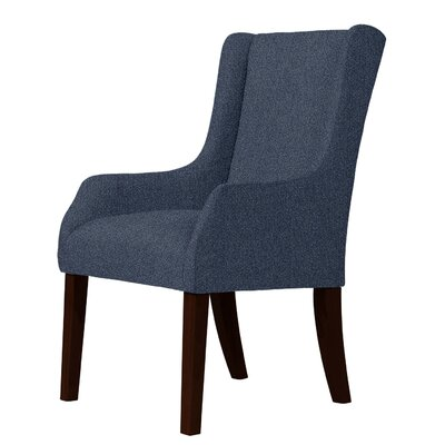 Larrabee Wingback Chair Upholstery: Blue
