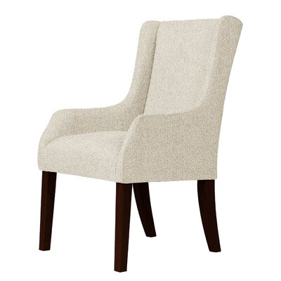 Larrabee Wingback Curvaceous Chair Upholstery: Cream