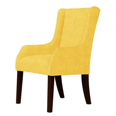 Larrabee Wingback Chair Upholstery: Yellow
