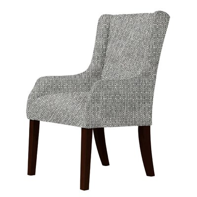 Larrabee Wingback Chair Upholstery: Gray