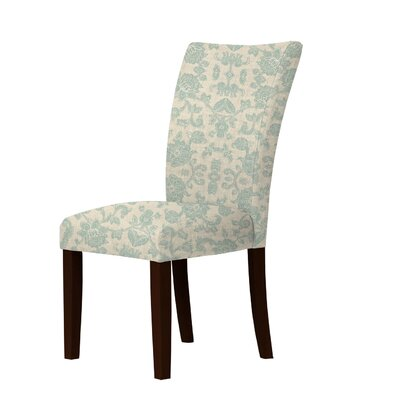 Latham Upholstered Dining Chair Upholstery: Green
