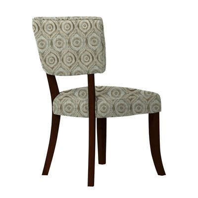 Petra Curvilinear Cotton Side Chair