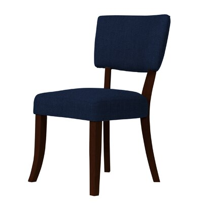 Larochelle Dark Blue/Brown Side Chair