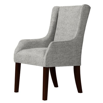 Larrabee Wingback Chair Upholstery: Light Gray