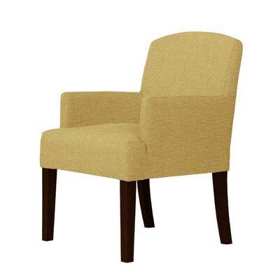 Larose Cotton Arm Chair Upholstery: Cream