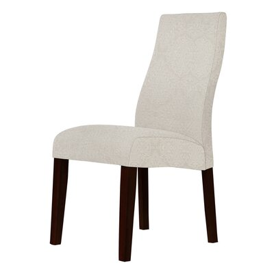 Haddonfield Sand Fabric Parsons Chair