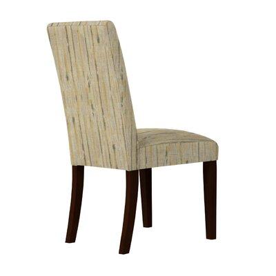Beachwood Wood Texture Parsons Chair