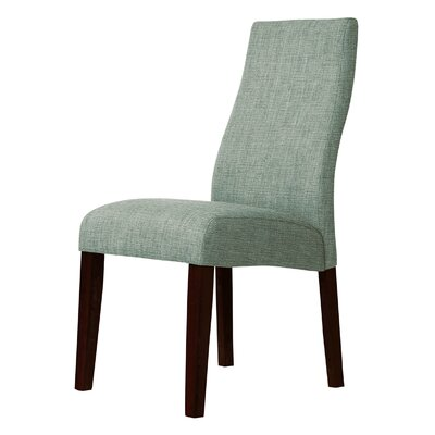 Haddonfield Parsons Chair Upholstery: Gren