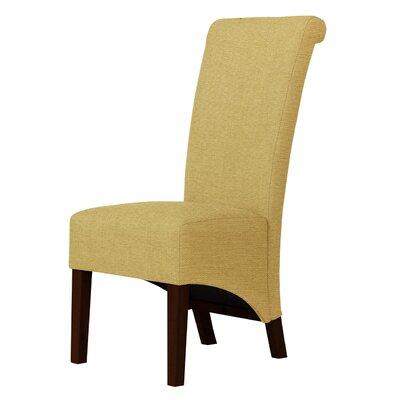 Keyesport Cotton Fabric Parsons Chair Upholstery: Cream