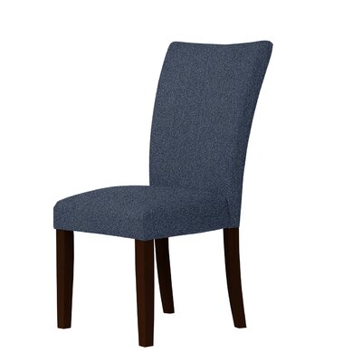 Wallington Parsons Chair Upholstery: Light Blue
