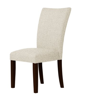 Wallington Solid Wood Legs Parsons Chair Upholstery: Natural